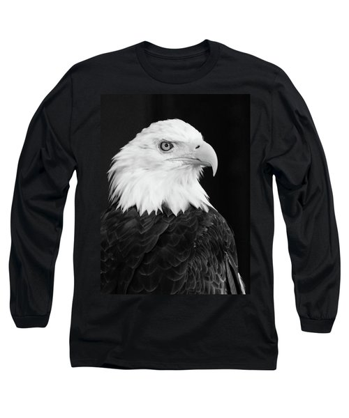 Eagle Portrait Special  Long Sleeve T-Shirt by Coby Cooper