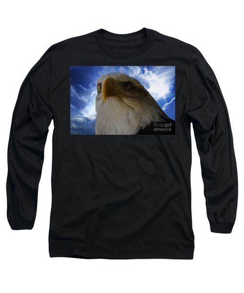 Eagle Long Sleeve T-Shirt by Sherman Perry