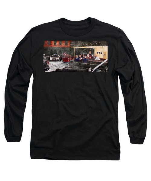 Early Christmas Morning Coffee Long Sleeve T-Shirt