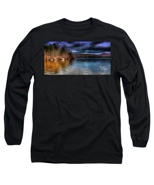 Long Sleeve T-Shirt featuring the photograph Early May On Limekiln Lake by David Patterson