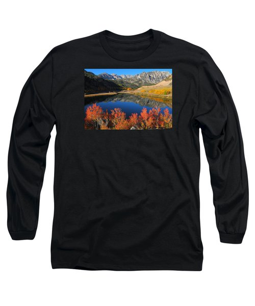 Early Morning At North Lake In Bishop Creek Canyon Long Sleeve T-Shirt by Jetson Nguyen