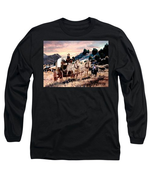 Early Morning Drive Long Sleeve T-Shirt
