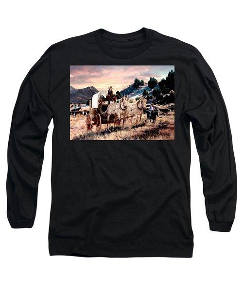 Early Morning Drive Long Sleeve T-Shirt