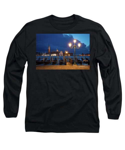 Long Sleeve T-Shirt featuring the photograph Early Morning In Venice by Brian Jannsen