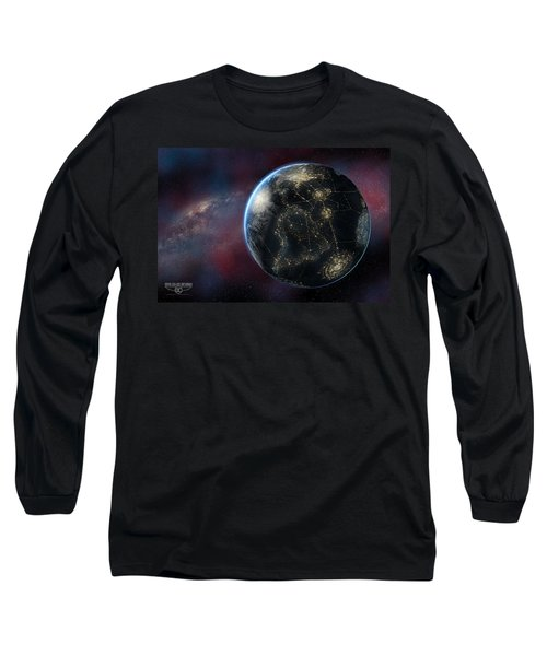 Earth One Day Long Sleeve T-Shirt by David Collins