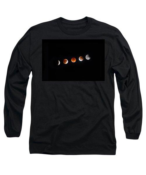 Earth Shadow  Long Sleeve T-Shirt