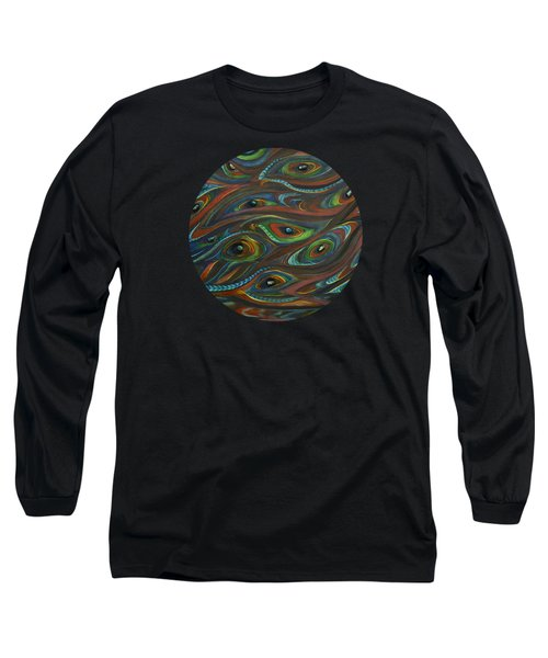 Earth Song Long Sleeve T-Shirt by Deborha Kerr