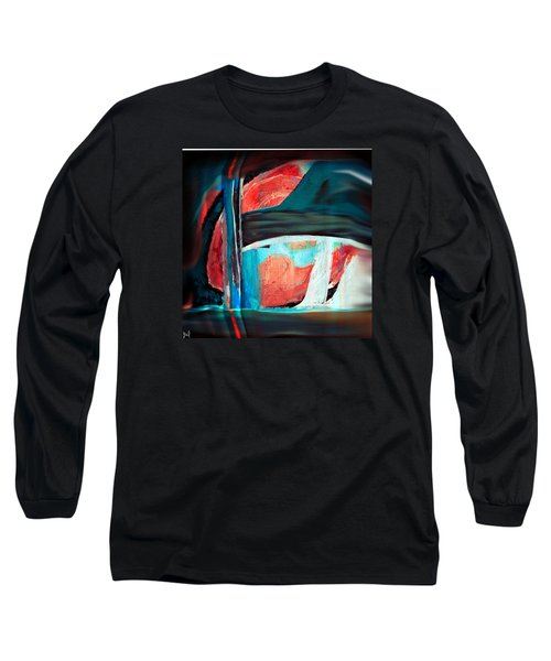 Contrast And Concept Long Sleeve T-Shirt