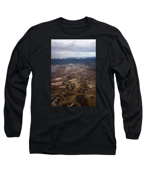 Long Sleeve T-Shirt featuring the photograph Earth's Kidneys by Ryan Manuel