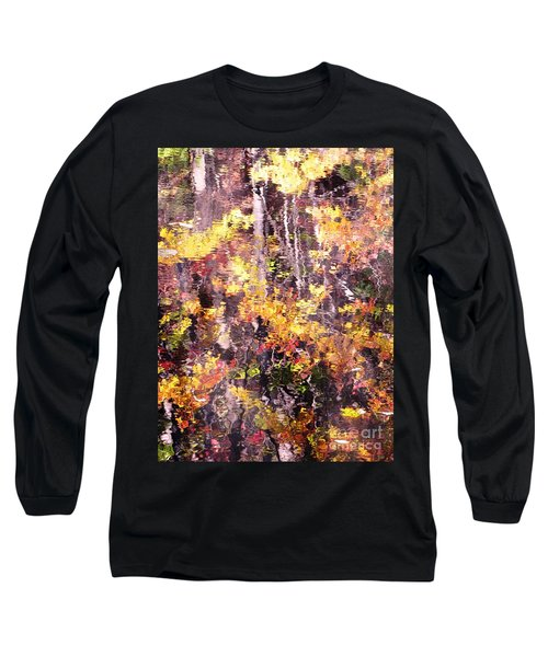 Long Sleeve T-Shirt featuring the photograph Earthy Water by Melissa Stoudt