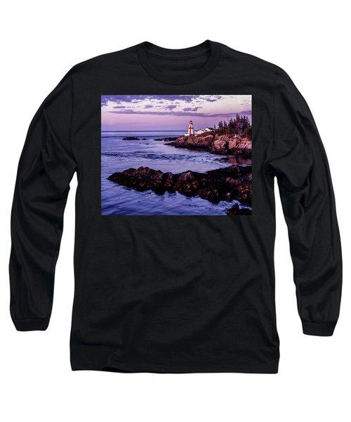 East Quoddy Head, Canada Long Sleeve T-Shirt