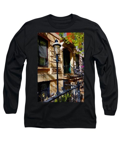 East Village New York Townhouse Long Sleeve T-Shirt