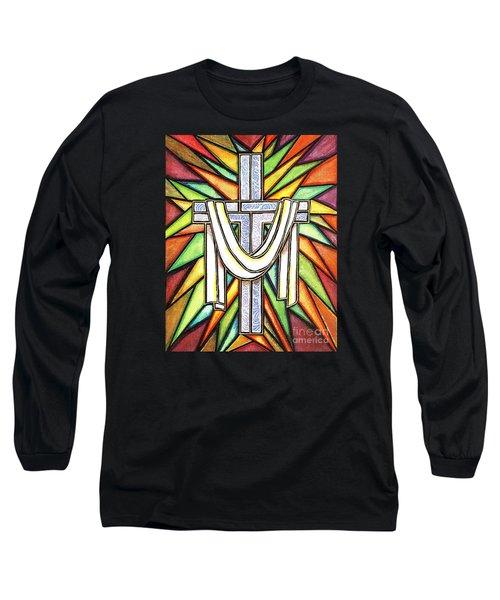 Easter Cross 5 Long Sleeve T-Shirt by Jim Harris