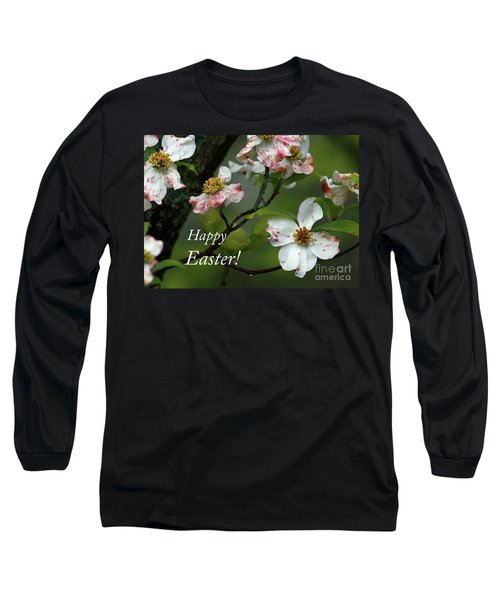Easter Dogwood Long Sleeve T-Shirt by Douglas Stucky