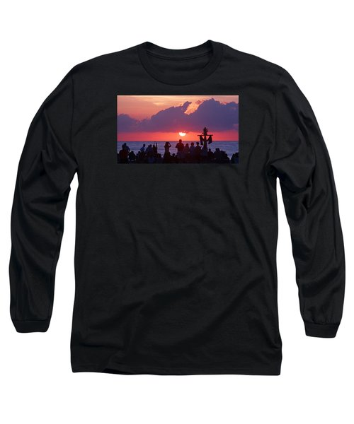 Easter Sunrise Beach Service Long Sleeve T-Shirt