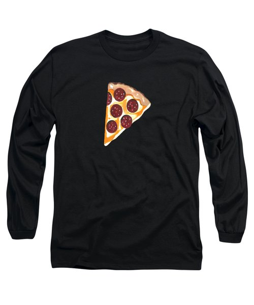 Eat Pizza Long Sleeve T-Shirt