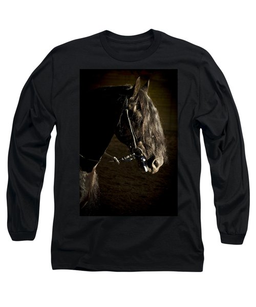 Long Sleeve T-Shirt featuring the photograph Ebony Beauty D6951 by Wes and Dotty Weber