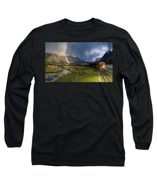 Echoes From The Caboose Long Sleeve T-Shirt