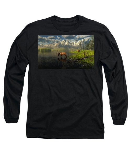 Echoes Of A Lost Frontier Long Sleeve T-Shirt