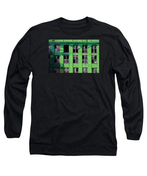 Edificio Verde Long Sleeve T-Shirt