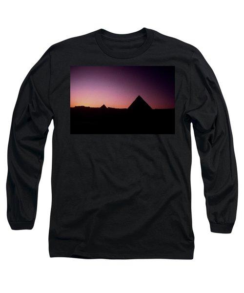 Egyptian Sunset Long Sleeve T-Shirt