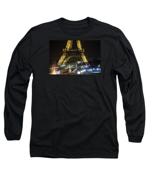 Long Sleeve T-Shirt featuring the photograph Eiffel Tower by Andrew Soundarajan