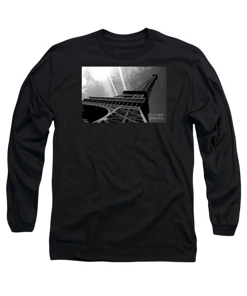 Eiffel Tower Long Sleeve T-Shirt by M G Whittingham