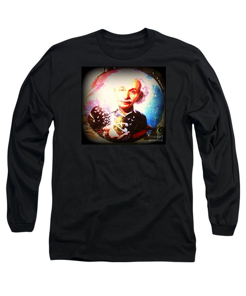 Einstein On Pot Long Sleeve T-Shirt
