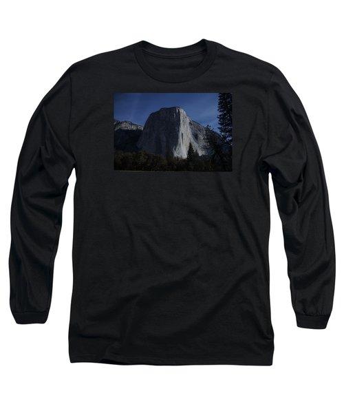 El Capitan In Moonlight Long Sleeve T-Shirt