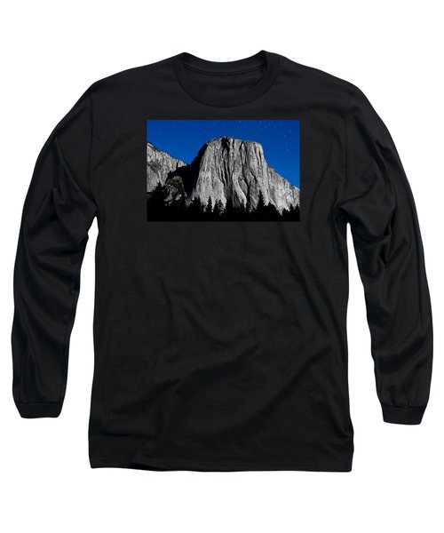 El Capitan Under A Full Moon Long Sleeve T-Shirt