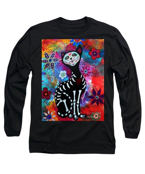 El Gato II Day Of The Dead Long Sleeve T-Shirt