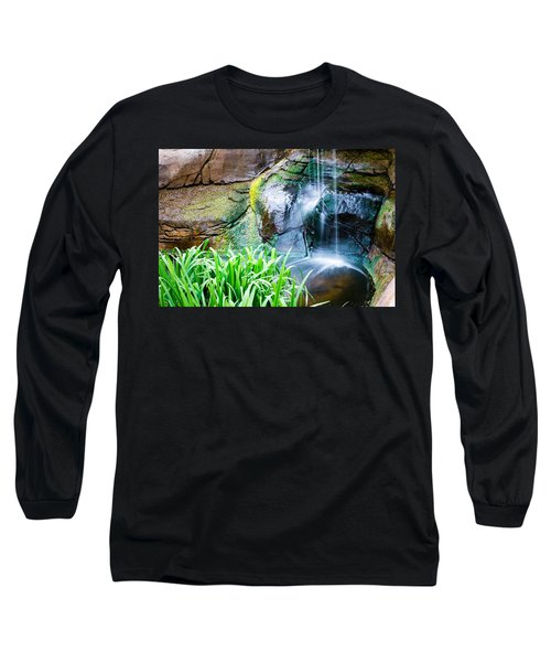 El Paso Zoo Waterfall Long Exposure Long Sleeve T-Shirt