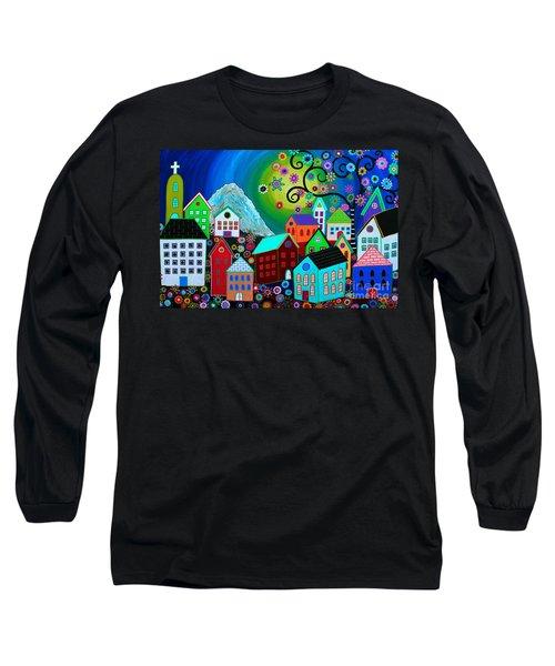 Mi Pueblo Divino Long Sleeve T-Shirt