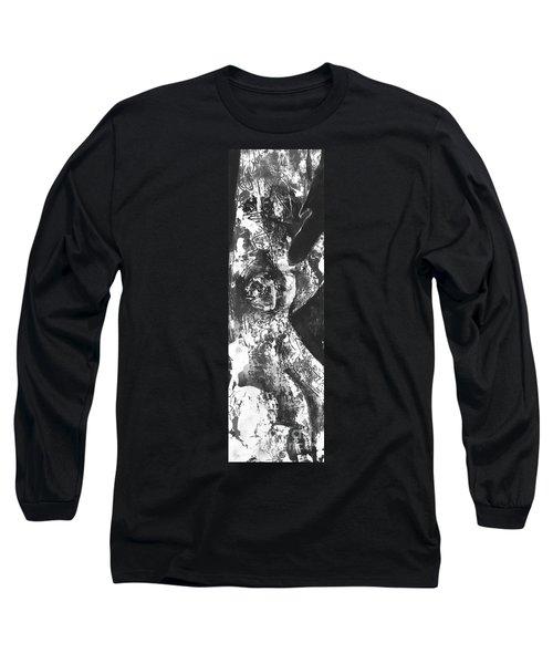 Long Sleeve T-Shirt featuring the painting Elder by Carol Rashawnna Williams