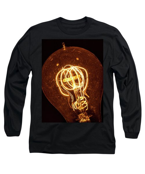 Electricity Through Tungsten Long Sleeve T-Shirt
