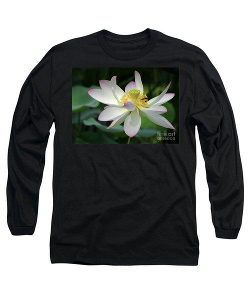 Elegant Lotus Long Sleeve T-Shirt