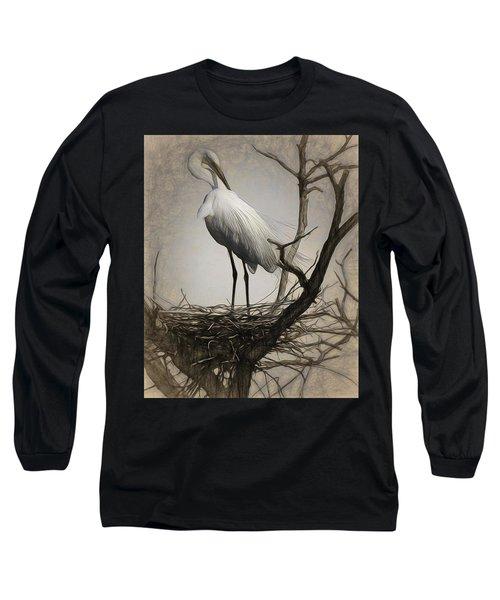 Elegant Mother Long Sleeve T-Shirt