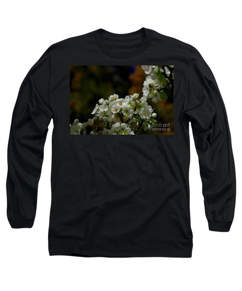 Long Sleeve T-Shirt featuring the photograph Elegantly White by Vicki Pelham