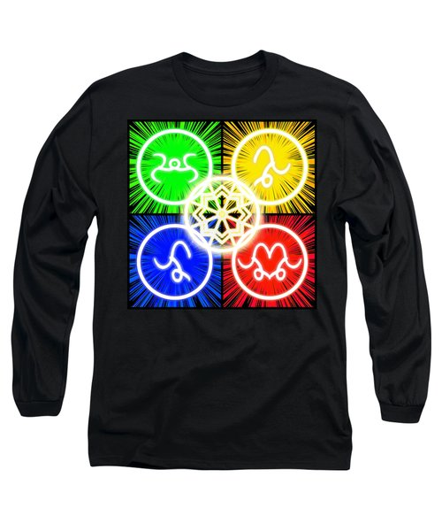 Long Sleeve T-Shirt featuring the digital art Elements Of Consciousness by Shawn Dall