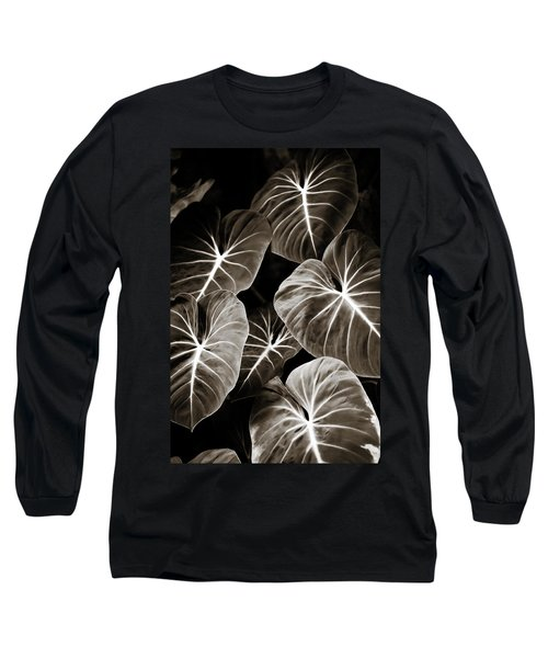 Elephant Ears On Parade Long Sleeve T-Shirt by Marilyn Hunt