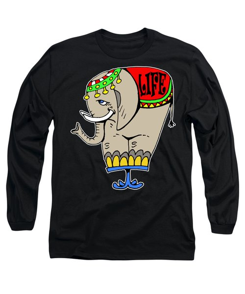 Elephant Life  Long Sleeve T-Shirt