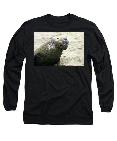 Elephant Seal Long Sleeve T-Shirt