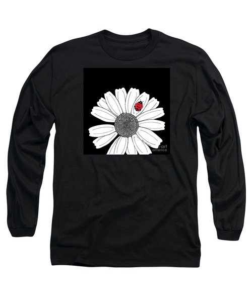 Ella's Daisy Long Sleeve T-Shirt by Billinda Brandli DeVillez