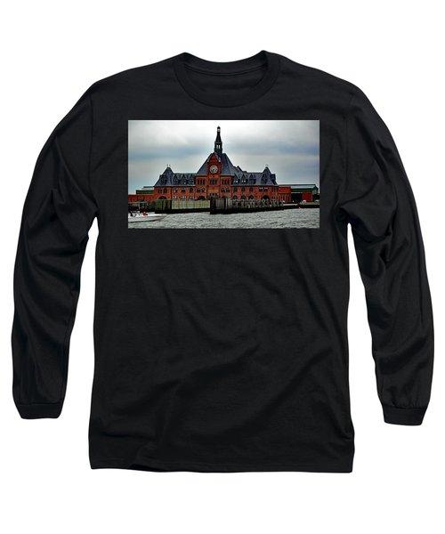 Communipaw Terminal No. 49 Long Sleeve T-Shirt