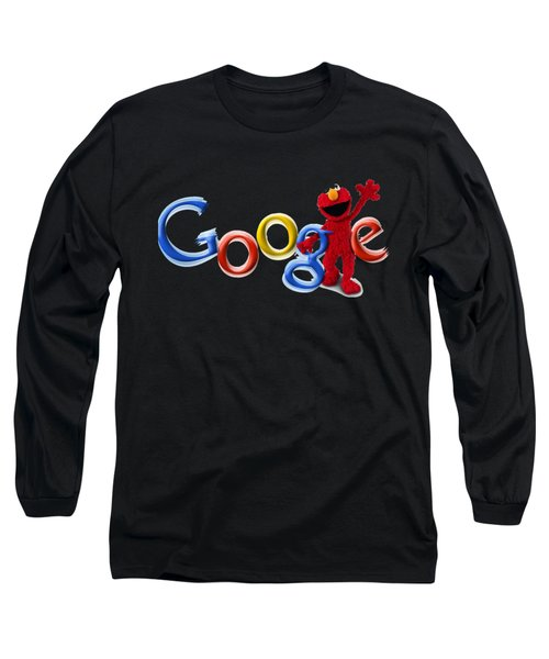 Elmo Google T-shirt Long Sleeve T-Shirt