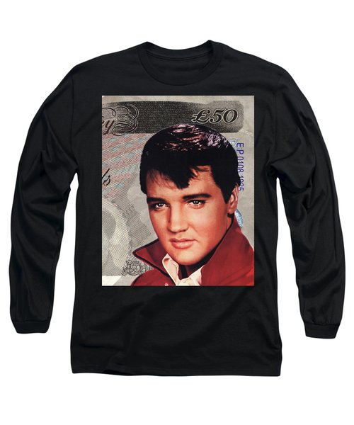 Elvis Presley Long Sleeve T-Shirt by Unknown