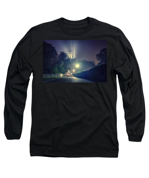 Ely Cathedral - Night Long Sleeve T-Shirt