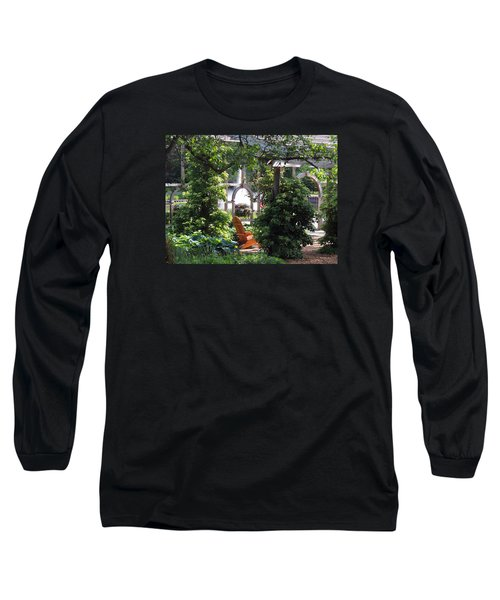 Embrace Spring Long Sleeve T-Shirt by Teresa Schomig