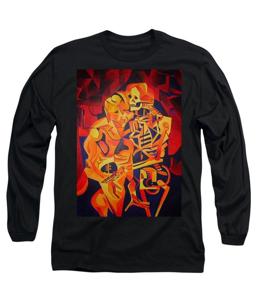 Embracing Death Long Sleeve T-Shirt