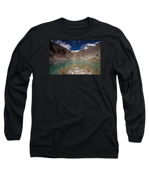 Emerald Mountain Lake Long Sleeve T-Shirt